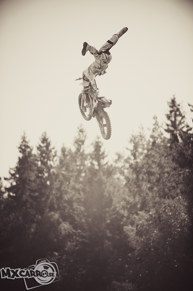 Thom Johansson Freestyle motocross FMX